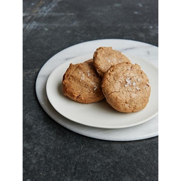 Almond Butter Cookie with Maldon Salt