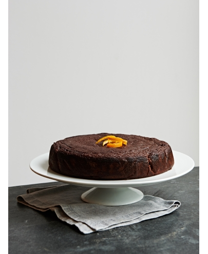 Raw Cacao & Orange Blossom Cake