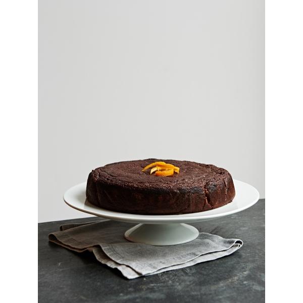 Raw Cacao & Orange Blossom Cake