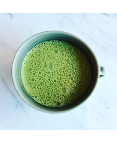 Matcha Latte – mid morning boost