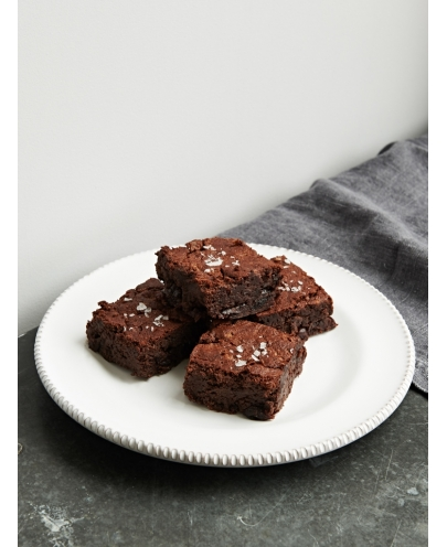 Sour Cherry & Black Bean Brownies