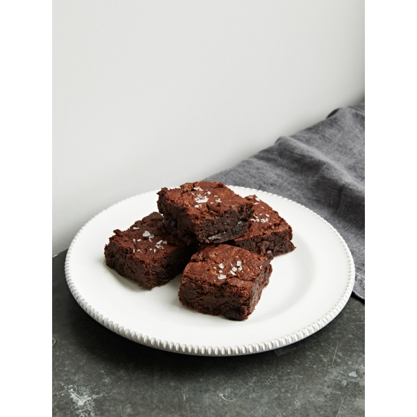 Sour Cherry & Black Bean Brownies