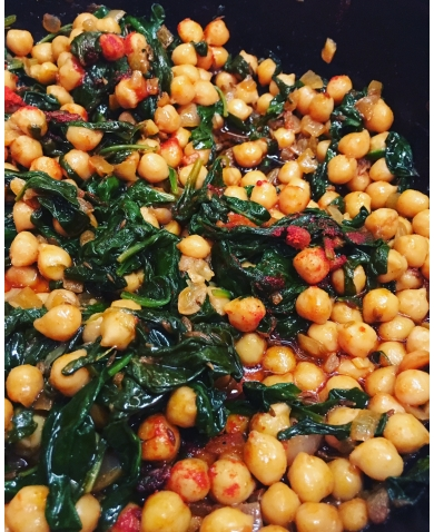Andalusian Style Chickpeas