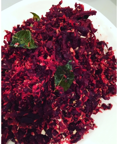 Super Quick and Tasty way to use up Raw Beetroot