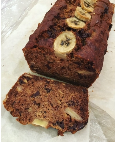 Vegan Banana & Chocolate Bread