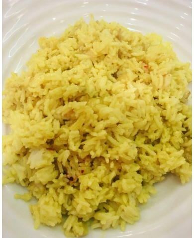 Coconut Rice in a jiffy!