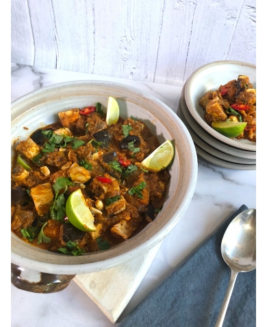 Aubergine & Tofu Massaman Curry