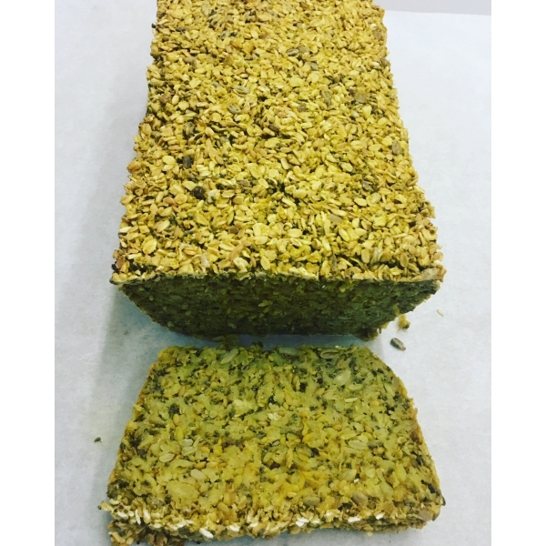 Vegan Turmeric, Seed & Oat Bread