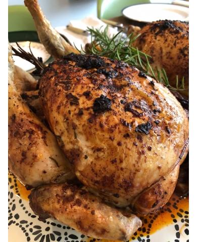 Umami Roast Chicken